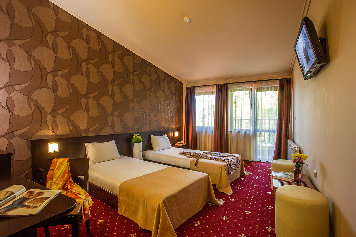 Hotels With Separate Bedrooms Double Room With Separate Beds Hotels In  Sofia Three