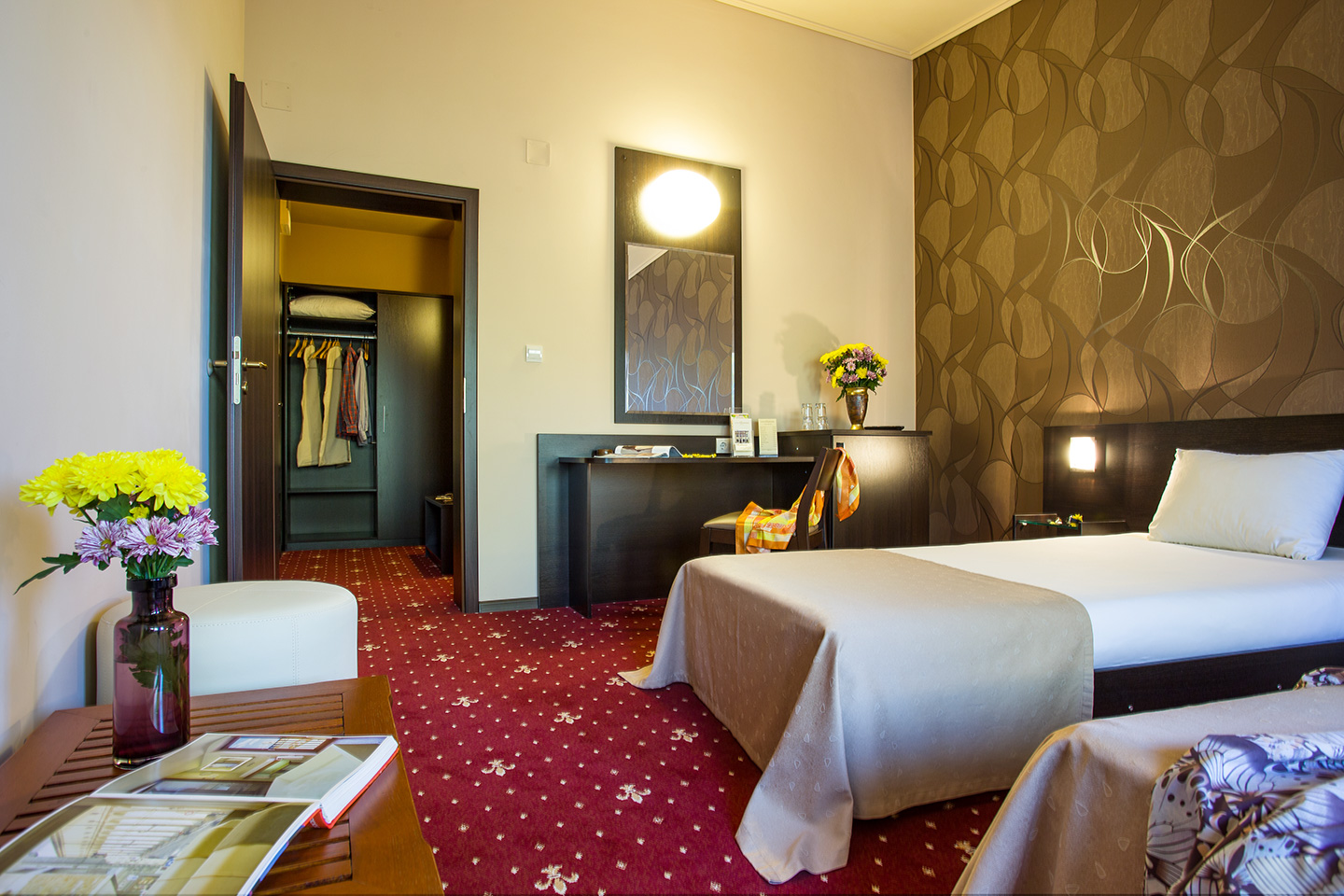 Double Room With Separate Beds Hotels In Sofia Three Star Hotel Villa Boyana Awaits